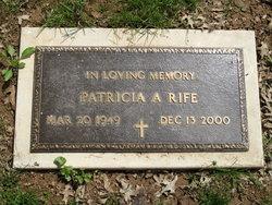 Patricia A <i>Shrader</i> Rife