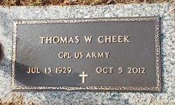 Thomas William Cheek