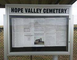 Hope Valley Cemetery