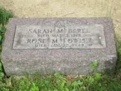 Sarah <i>Michaels</i> Berel