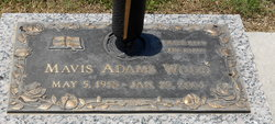 Mavis <i>Adams</i> Wood