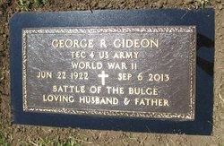George Robert Jack Gideon