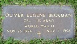 Oliver Eugene Ollie Beckman
