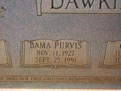 Bama <i>Purvis</i> Dawkins