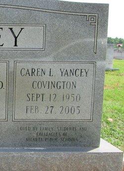 Dr Caren Louise <i>Yancey</i> Covington
