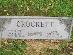 Ludie F. Pete Crockett