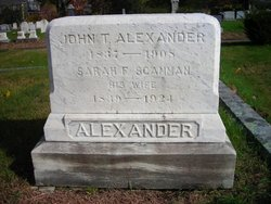 Sarah F. <i>Scamman</i> Alexander