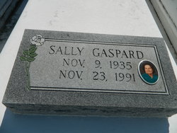 Sally Eva <i>Terrebonne</i> Gaspard