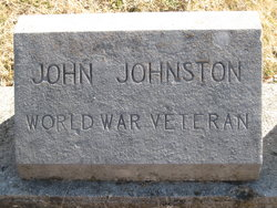 Pvt John W. Johnston