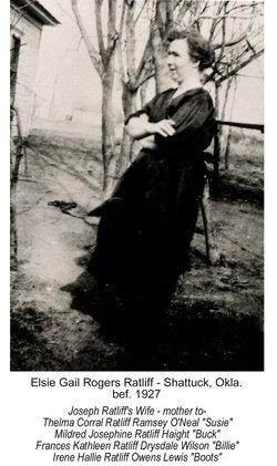 Elsie Gail <i>Rogers</i> Ratliff