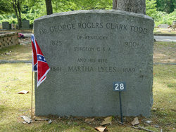 Dr George Rogers Clark Todd