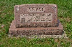Clara Helen <i>Kinter</i> Griest