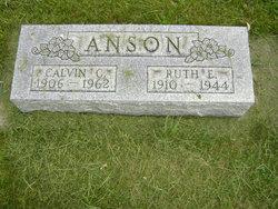 Ruth E. <i>Sheets</i> Anson