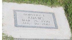 Dorothy Louise <i>Williams</i> Adams