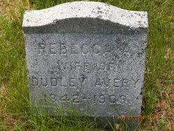 Rebecca A <i>Fonda</i> Avery