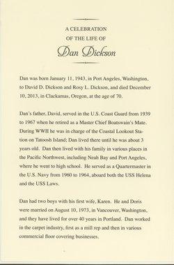 Daniel Dana Danny Dickson