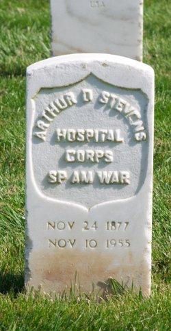 Arthur D Stevens