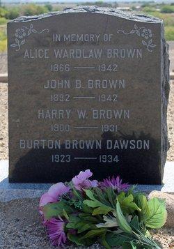 Alice <i>Wardlaw</i> Brown