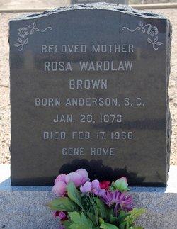 Rosa <i>Wardlaw</i> Brown