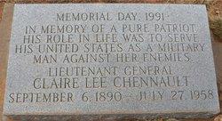 Gen Claire Lee Chennault