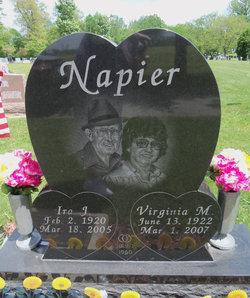 Virginia M. <i>Moore</i> Napier