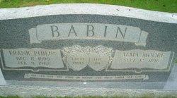 Alma <i>Moore</i> Babin