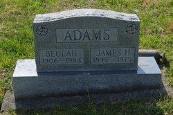Beulah Pearl <i>Lunsford</i> Adams