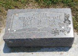 Miranda <i>Crick Totten</i> Fate
