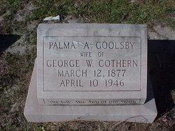 Palma A. <i>Goolsby</i> Cothern