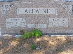 Avis Margaret <i>Haney</i> Alewine