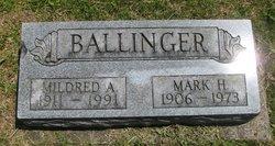 Mildred A Ballinger
