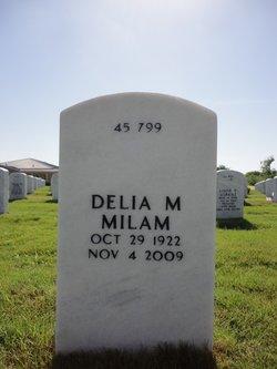Delia M Milam