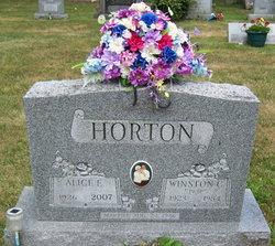 Alice E. <i>Robbins</i> Horton