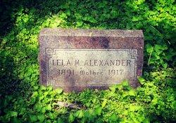 Lela M Alexander