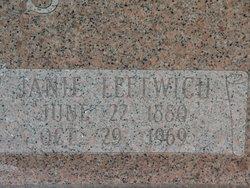 Nancy Jane Janie <i>Leftwich</i> Betts