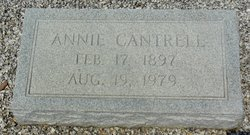 Annie L <i>Cantrell</i> Alsabrook