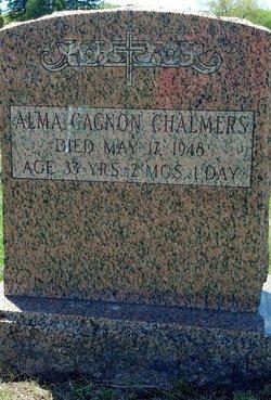 Alma <i>Gagnon</i> Chalmers