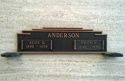 Edith Dogmar Anderson