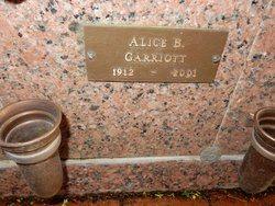 Alice B. Garriott