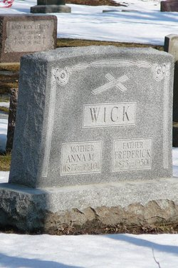 Anna M. <i>Schmitz</i> Wick
