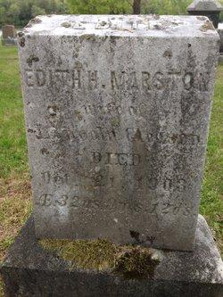 Edith H <i>Martson</i> Gleason