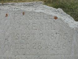 Priscilla Margaret <i>Kearl</i> Reed
