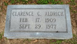 Clarence C Aldrich