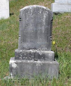 Mary E <i>Hemenway</i> Brown