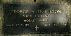 George Albert Stapleton