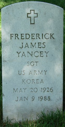 Frederick James Yancey