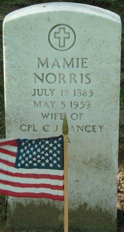 Mamie <i>Norris</i> Yancey