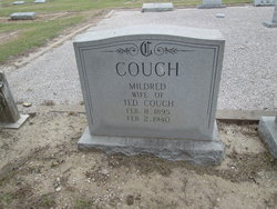 Mildred Millie <i>Loyd</i> Couch