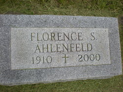 Florence D. <i>Schultheis</i> Ahlenfeld