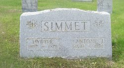 Myrtle Simmet